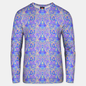 Thumbnail image of Light purple portal pattern Unisex sweater, Live Heroes