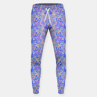 Thumbnail image of Light purple portal pattern Sweatpants, Live Heroes