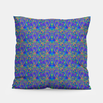 Thumbnail image of dark portal pattern Pillow, Live Heroes