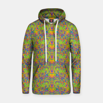 Orange portal pattern Hoodie thumbnail image