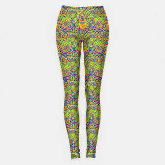 Orange portal pattern Leggings thumbnail image