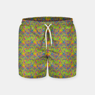 Orange portal pattern Swim Shorts thumbnail image