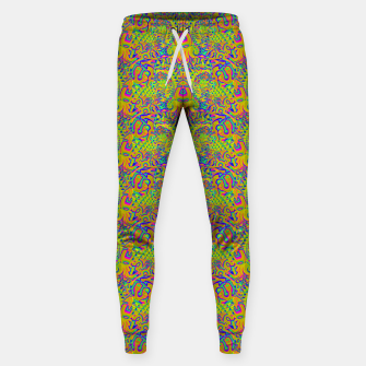 Orange portal pattern Sweatpants thumbnail image