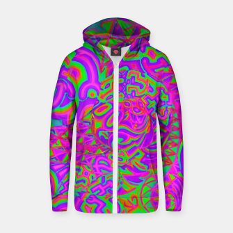 Purple Portal Zip up hoodie thumbnail image