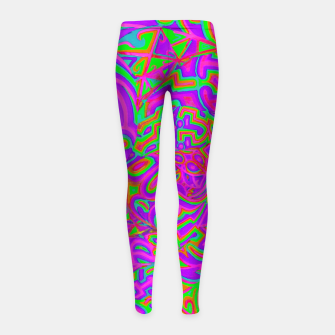 Purple Portal Girl's leggings thumbnail image