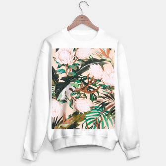 Thumbnail image of Tropical boho 77 Sudadera regular, Live Heroes