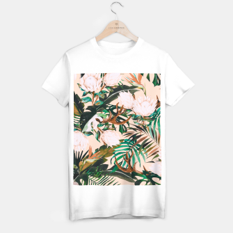 Miniature de image de Tropical boho 77 Camiseta Regular, Live Heroes