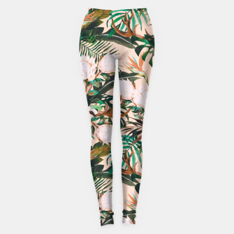 Miniatur Tropical boho 77 Leggings, Live Heroes