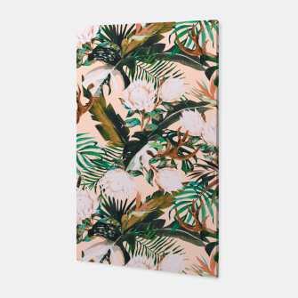 Thumbnail image of Tropical boho 77 Canvas, Live Heroes
