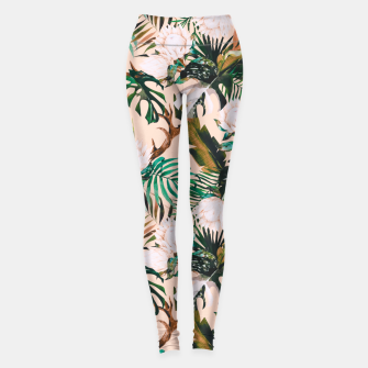 Thumbnail image of Tropical boho 77 Leggings, Live Heroes