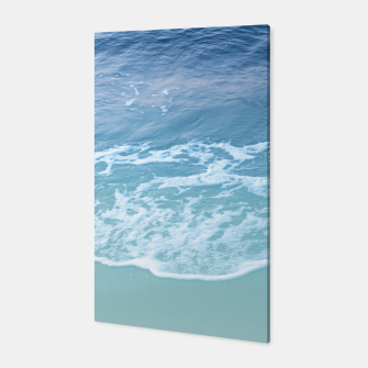 Miniatur Turquoise Ocean Beauty Dream #1 #wall #decor #art Canvas, Live Heroes