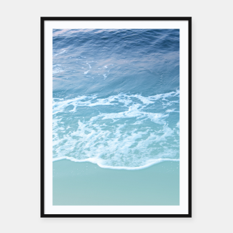 Miniatur Turquoise Ocean Beauty Dream #1 #wall #decor #art Plakat mit rahmen, Live Heroes