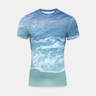 Miniatur Turquoise Ocean Beauty Dream #1 #wall #decor #art Shortsleeve rashguard, Live Heroes