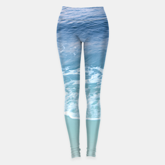 Miniatur Turquoise Ocean Beauty Dream #1 #wall #decor #art Leggings, Live Heroes