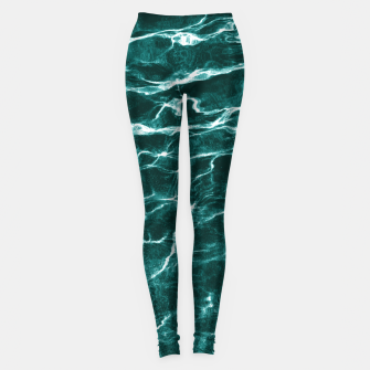 Miniatur Ocean Dream #3 #water #decor #art  Leggings, Live Heroes