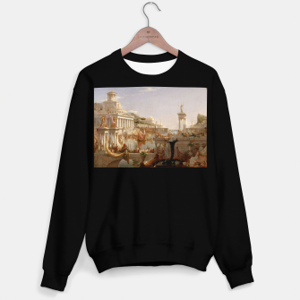 Thumbnail image of  Thomas Cole painting, The Consummation The Course of the Empire Sweater regular, Live Heroes