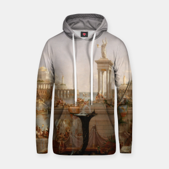 Thumbnail image of  Thomas Cole painting, The Consummation The Course of the Empire Hoodie, Live Heroes