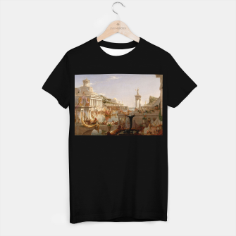 Thumbnail image of  Thomas Cole painting, The Consummation The Course of the Empire T-shirt regular, Live Heroes