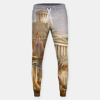 Thumbnail image of  Thomas Cole painting, The Consummation The Course of the Empire Sweatpants, Live Heroes