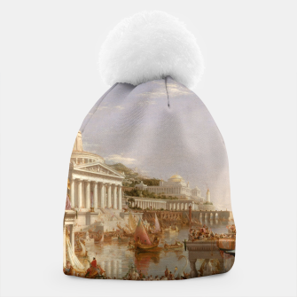 Thumbnail image of  Thomas Cole painting, The Consummation The Course of the Empire Beanie, Live Heroes