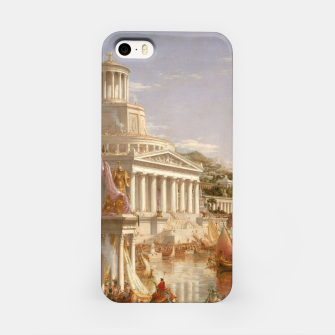 Thumbnail image of  Thomas Cole painting, The Consummation The Course of the Empire iPhone Case, Live Heroes