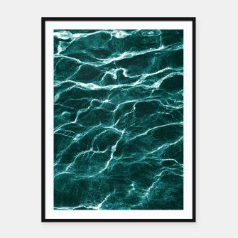 Thumbnail image of Ocean Dream #3 #water #decor #art  Plakat mit rahmen, Live Heroes