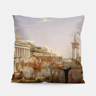 Thumbnail image of  Thomas Cole painting, The Consummation The Course of the Empire Pillow, Live Heroes