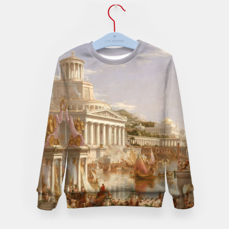 Thumbnail image of  Thomas Cole painting, The Consummation The Course of the Empire Kid's sweater, Live Heroes