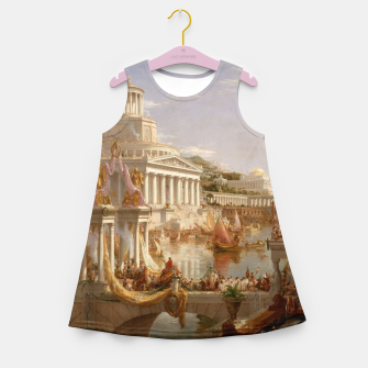 Thumbnail image of  Thomas Cole painting, The Consummation The Course of the Empire Girl's summer dress, Live Heroes
