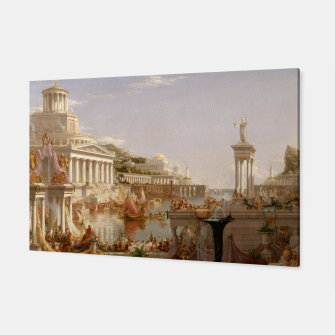 Thumbnail image of  Thomas Cole painting, The Consummation The Course of the Empire Canvas, Live Heroes