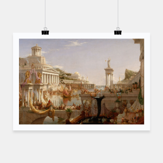 Thumbnail image of  Thomas Cole painting, The Consummation The Course of the Empire Poster, Live Heroes