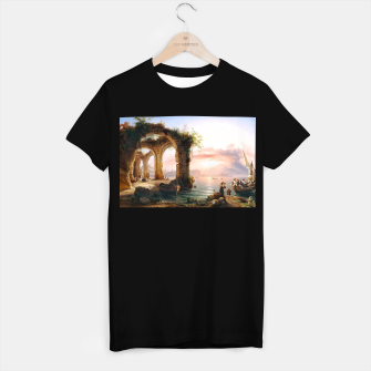 Thumbnail image of Fashion items of Eduard Agricola - The Bay of Naples T-shirt regular, Live Heroes