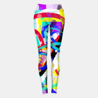 Thumbnail image of abstract mountains Leggings, Live Heroes