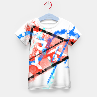 Thumbnail image of triangle of speed (phyisics) T-Shirt für kinder, Live Heroes