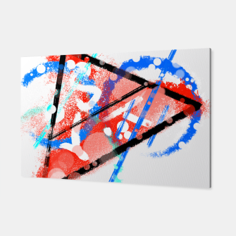 Miniatur triangle of speed (phyisics) Canvas, Live Heroes