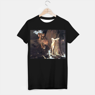 Thumbnail image of Fashion art of Jean August D. Ingres - Roger delivering Angelica T-shirt regular, Live Heroes