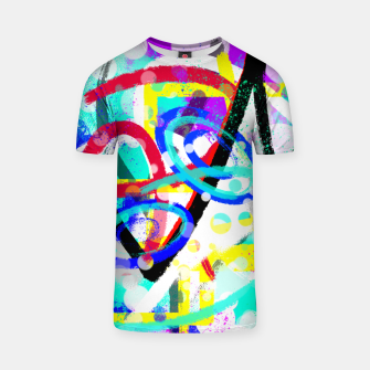 Thumbnail image of abstract mountains T-Shirt, Live Heroes