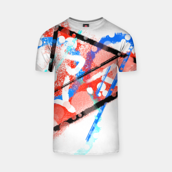Thumbnail image of triangle of speed (phyisics) T-Shirt, Live Heroes
