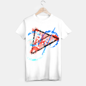 Thumbnail image of triangle of speed (phyisics) T-Shirt regulär, Live Heroes