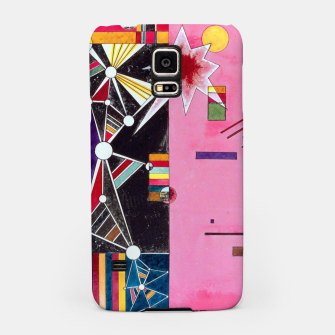 Fashion items of Wassily Kandinsky Painting - Pin and Red Samsung Case miniature