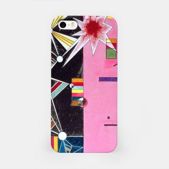 Fashion items of Wassily Kandinsky Painting - Pin and Red iPhone Case miniature