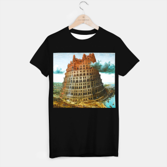 Miniature de image de Fashion items of Peter Bruegel the Elder painting, The Tower of Babel T-shirt regular, Live Heroes