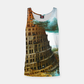 Thumbnail image of Fashion items of Peter Bruegel the Elder painting, The Tower of Babel Tank Top, Live Heroes