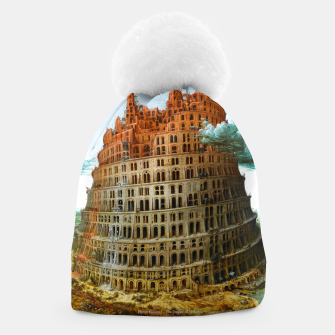 Thumbnail image of Fashion items of Peter Bruegel the Elder painting, The Tower of Babel Beanie, Live Heroes