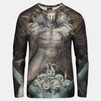Thumbnail image of Fashion items of William Blake illustration , The Great Red Dragon and the Beast from the Sea Unisex sweater, Live Heroes