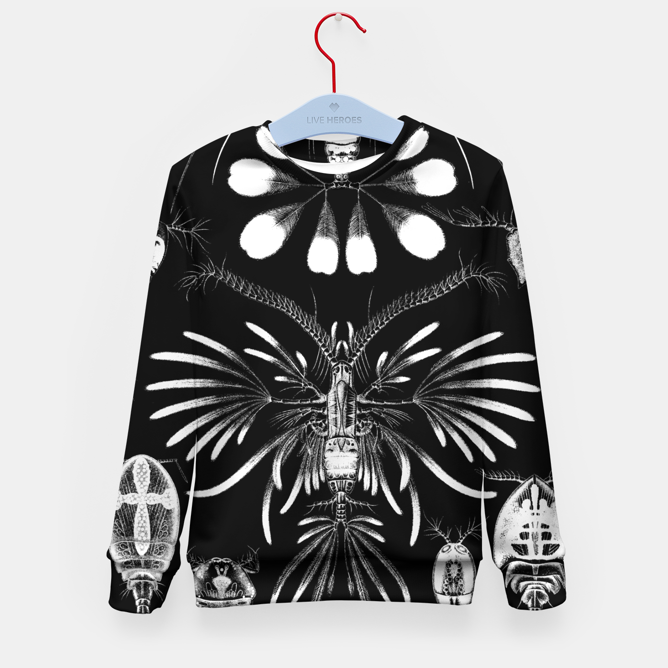Foto Fashion art of an old Encyclopedia Illustration - Insects Kid's sweater - Live Heroes