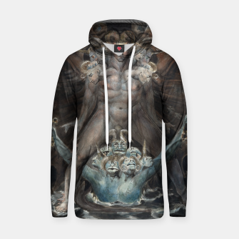 Thumbnail image of Fashion items of William Blake illustration , The Great Red Dragon and the Beast from the Sea Hoodie, Live Heroes