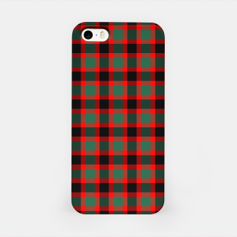 Christmas Tartan Pattern iPhone Case miniature