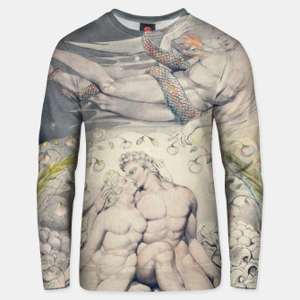 Miniatur Fashion items of William Blake Watercolour- Paradise Lost Unisex sweater, Live Heroes