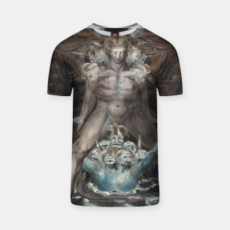 Thumbnail image of Fashion items of William Blake illustration , The Great Red Dragon and the Beast from the Sea T-shirt, Live Heroes
